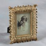 "Antique Gold 6 x 4"" Ornate Vintage Chic Photo Picture Frame"